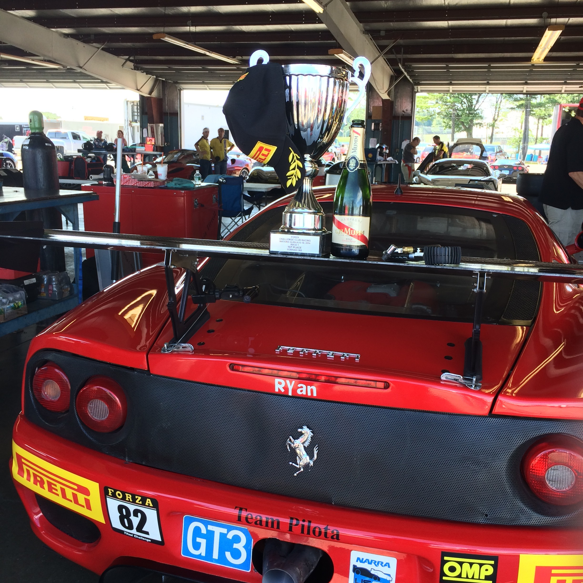 Gam driver bruce ledoux takes 1st at challenge club racing for Watkins motor lines tracking